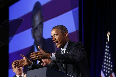 Obama takes shots at 2016 Republicans over middle class brand
