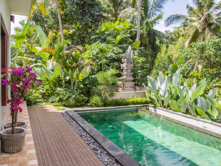 Cost of living in Ubud - villa rental with pool