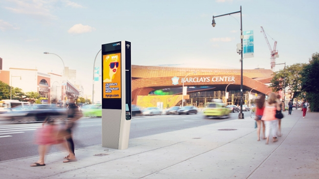 NYC Phone Booths Will Become Free WiFi Kiosks