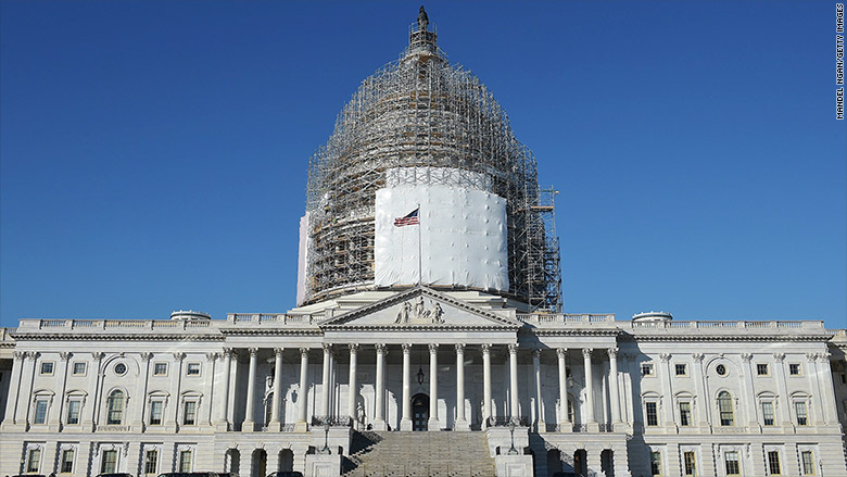 capitol scaffolding