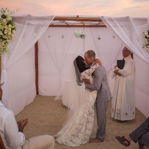 Naya Rivera Just Shared A Photo From Her Secret Wedding, And It Is #Flawless