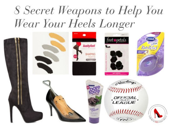 8 Secret Weapons to Help You Wear Your Heels Longer