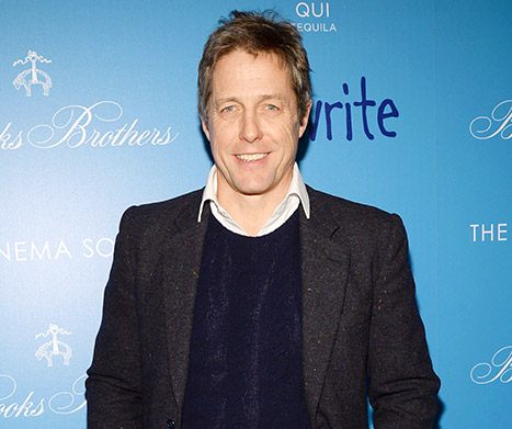 "Hugh Grant Cries ""A Lot"" Now, Admits Fatherhood Made Him Nicer"