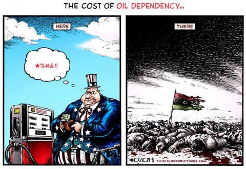 Free energy suppression