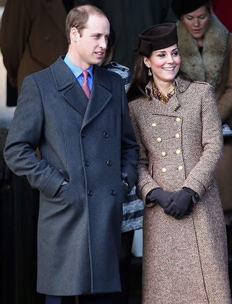 Kate Middleton, Prince William Join Royal Family for Sandringham Christmas Service: Where Were Prince George and Camilla?