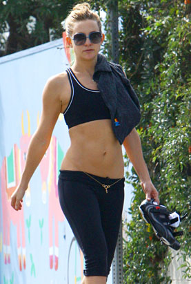 Kate Hudson's Abs Lead Today's Star Sightings