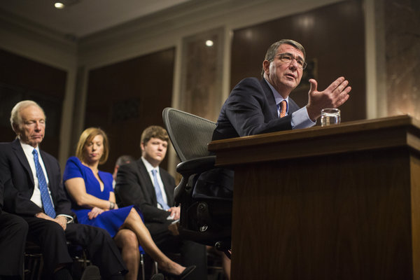 Senate approves Carter as new defense secretary