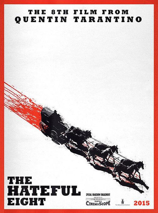 This is the cast of Quentin Tarantino's 'The Hateful Eight'