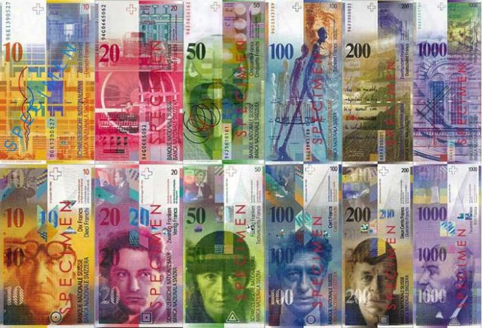 The Swiss franc rose and Bern advises to get used