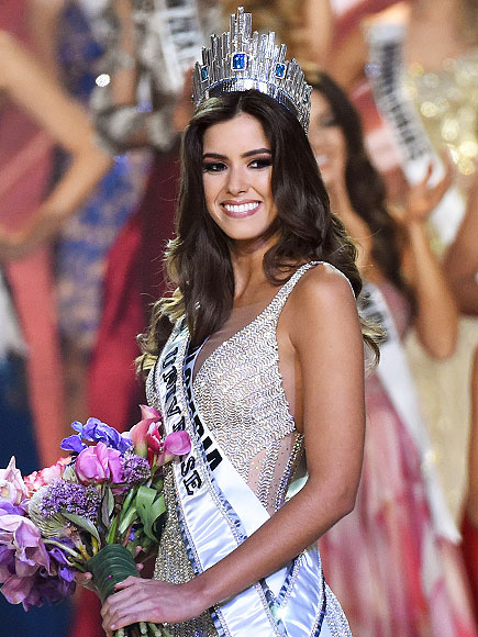 Miss Colombia Paulina Vega Wins Miss Universe
