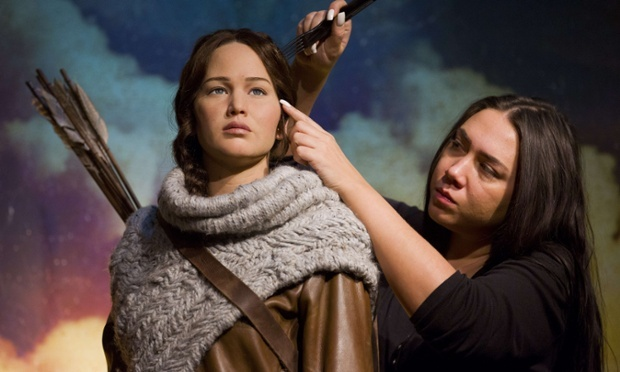 Jennifer Lawrence's Katniss Everdeen makes Madame Tussauds