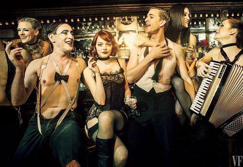 Emma Stone Is Smokin' In First Cabaret Photos