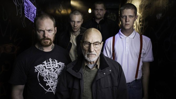 First Look: Patrick Stewart Plays a Neo-Nazi in 'Green Room'