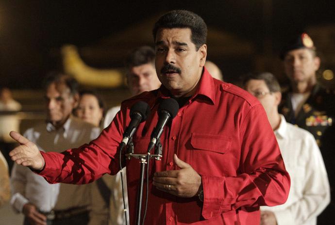 Venezuela's President Nicolas Maduro (Reuters/Stringer)