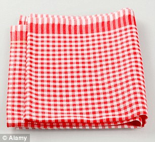 The study from the University of Arizona has found enteric bacteria in 89 per cent and E. coli in 25.6 per cent of kitchen tea-towels.