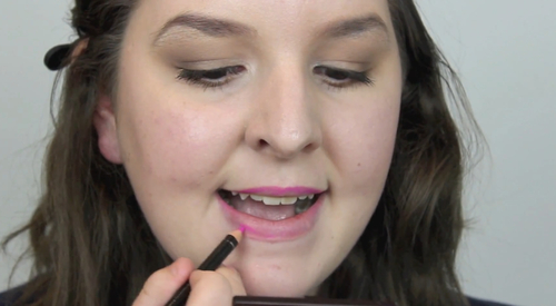 How to apply Lip Pencil