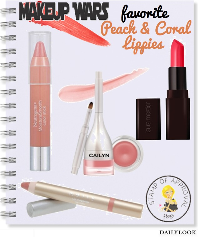 Makeup Wars: Favorite Peach and Coral Lippies!