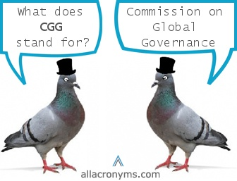 The Commission for Global Governance is going to set the NEW WORLD ORDER