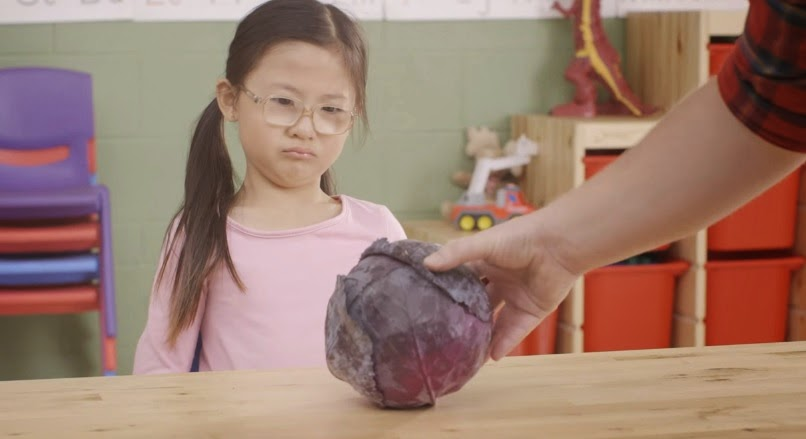 Adorable Kids Are Introduced To Vegetables in Kashi presents What's That?