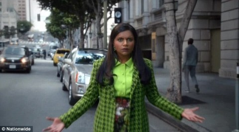 Nationwide's Super Bowl ad stars an invisible, sometimes-nude Mindy Kaling