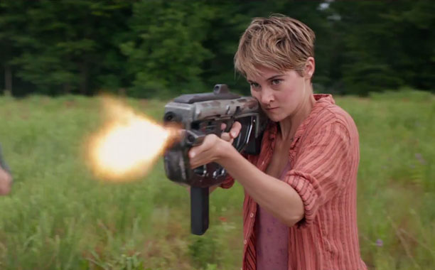 Watch Shailene Woodley fight Shailene Woodley in new 'Insurgent' trailer