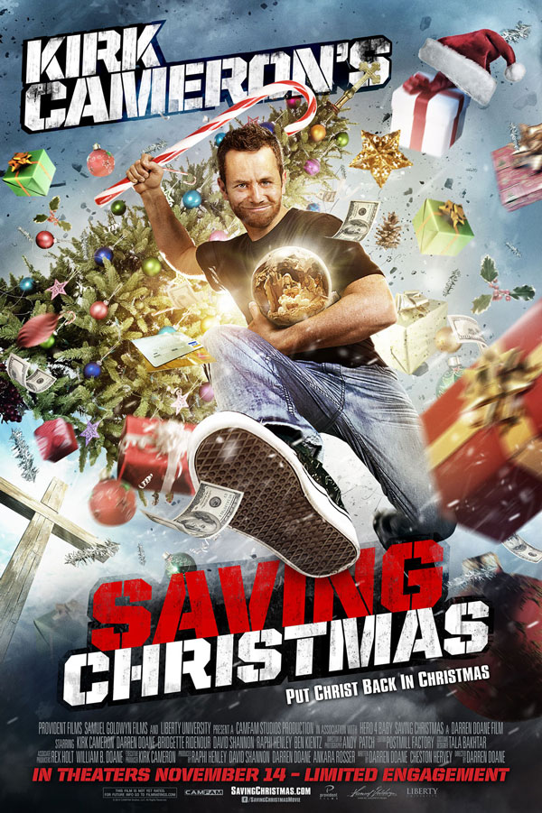 Kirk Cameron's Christmas Movie Is Coming And Its Trailer Is Outlandish