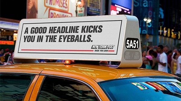 Cheeky, In-Your-Face 'New York Post' Ads Dare You To Ignore Them