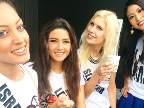 Miss Lebanon's Selfie with Miss Israel Causes Stir at Pageant