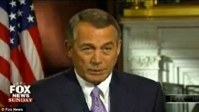 Boehner ready to let funding lapse for Homeland Security agency
