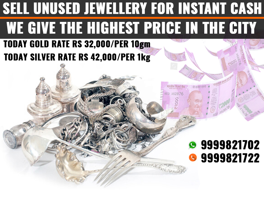 Silver jewelry Buyer