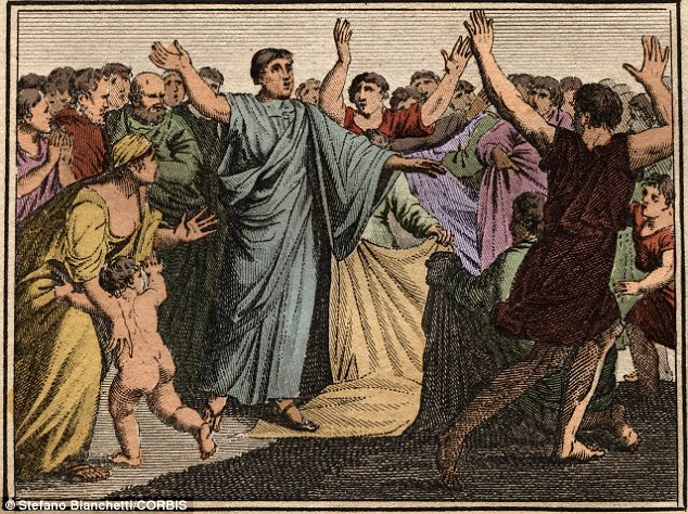 The famous Roman, Cicero (illustrated) used surprising sexual or violent imagery to remember details for legal debates. This is because it is more memorable than less shocking 'memory tags'