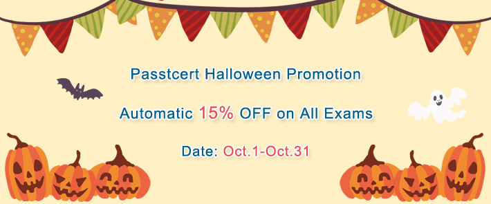 Passtcert Halloween Promotion