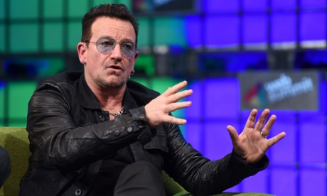 Bono defends Spotify and calls for more transparency from record labels
