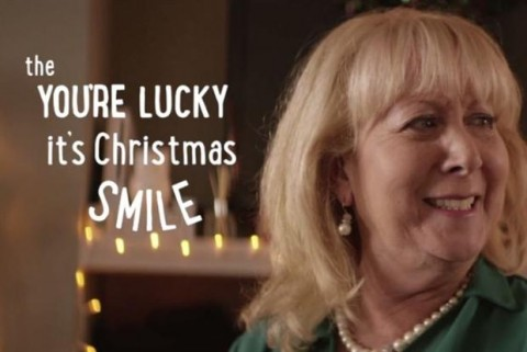 The story of Christmas smiles