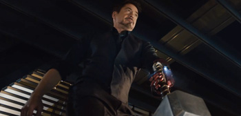 Watch Everyone Try to Lift Mjolnir in 'Avengers: Age of Ultron' Tease