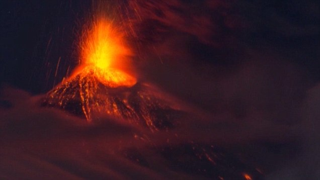Mount Mordor of Russia: Erupting volcano looks like a scene from The Lord of the Rings