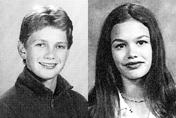HOT GALLERY: These Celebrities Are Famously Coupled Up—But What Were They Like in Their School Days?