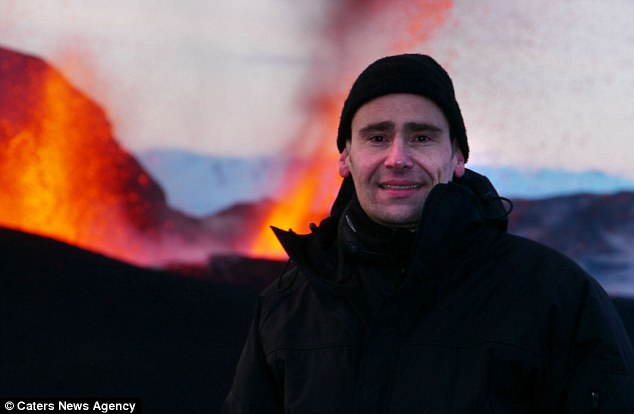 Author and camera operator Marc, 46, from Germany, said: 'Klyuchevskoy volcano could have been the template for Mordor, if Peter Jackson shot his film in Kamchatka'