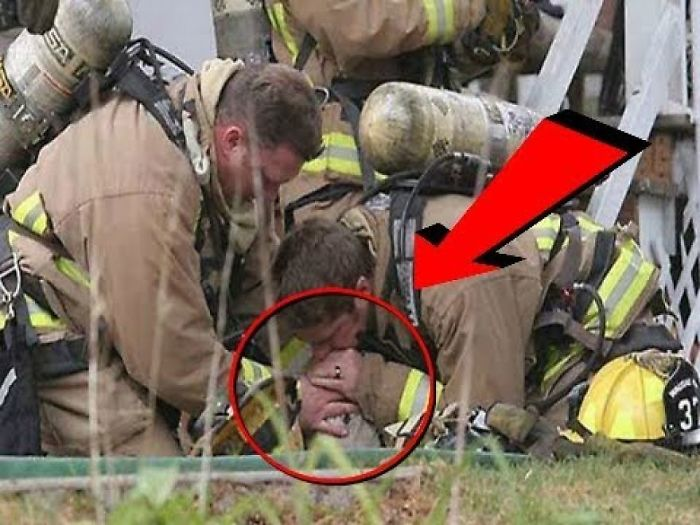 Firefighters Perform Mouth To Snout After Finding This Dog In A Fire. You Have To See How It Ends