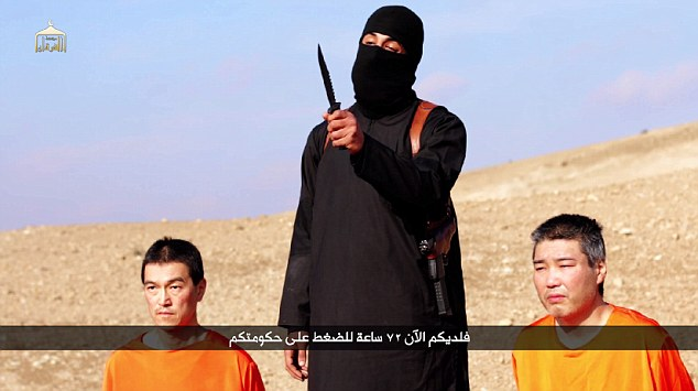 Islamic State demands $200 million ransom for 2 Japanese hostages