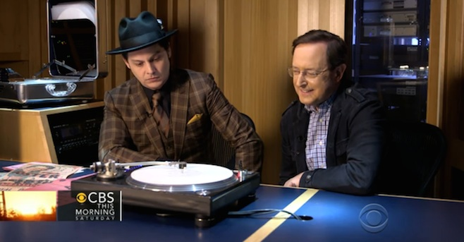 Watch Jack White Talk Paramount Records Set on 'CBS This Morning'