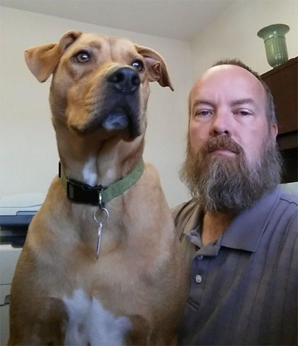 After This Man Lost 50 Pounds, His Dog Didn't Recognize Him
