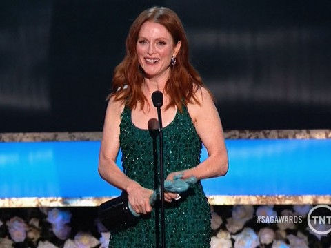 Julianne Moore Wins SAG Award for Outstanding Performance by a Female Actor in a Leading Role