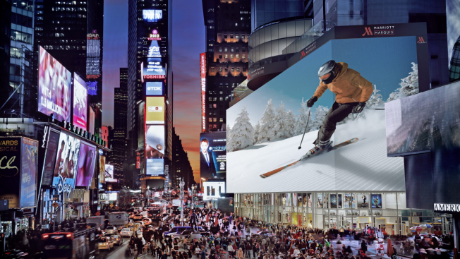 This Insanely Large Billboard Will Light Up an Entire Block of Times Square