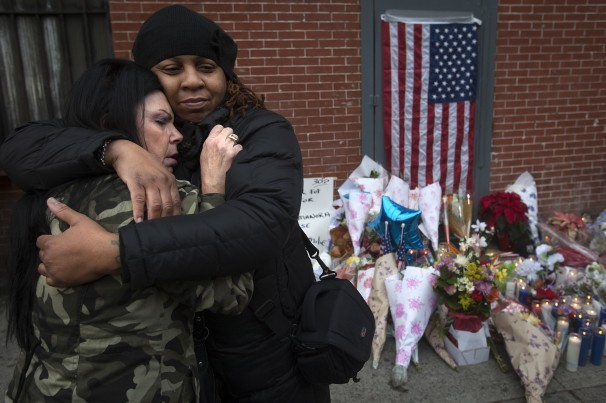 In New York, tensions between police and Mayor Bill de Blasio boil over after killings