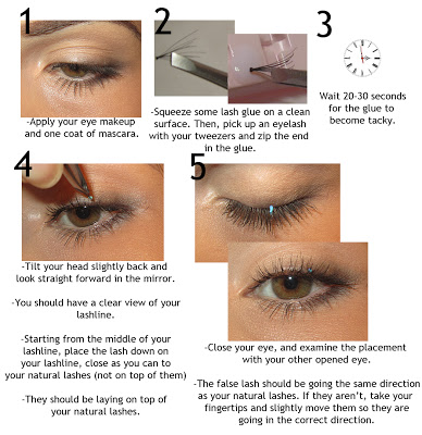 How to Apply Individual Flare Lashes!