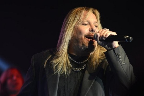Vince Neil, of Motley Crue, performs at Big Machine's CRS party