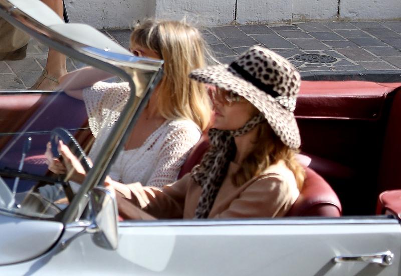 Jolie Driving