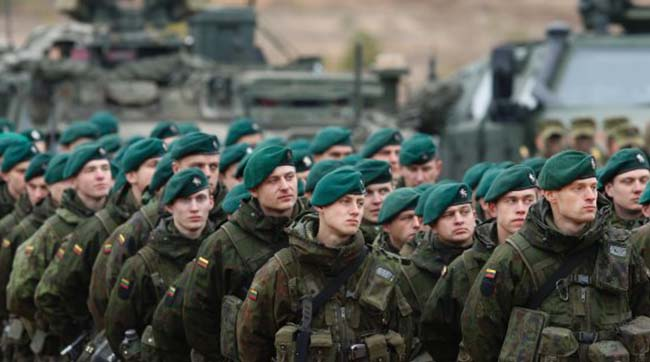 Lithuania's War Manual to Prepare Citizens for Russian Invasion
