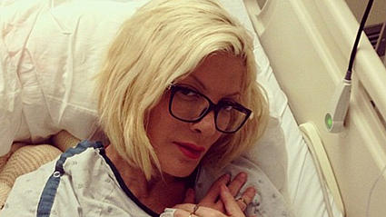 Tori Spelling shares somber photo from hospital bed: 'I've finally faced the truth that one person will never be there for me'